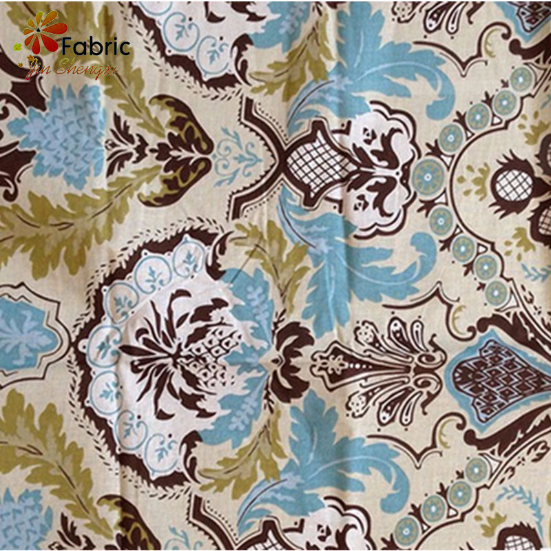 Simple Style Cotton Textile Fabric, Bedding 100% Cotton Fabric