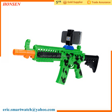 Portable AR Gun Augmented Reality Plastic Toy Gun Bluetooth Smartphone Shooting Games for Android and iOS