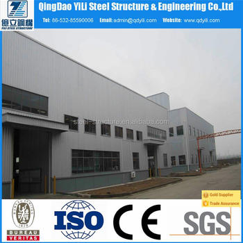 easy hall steel building structure most popular in steel structure building warehouse