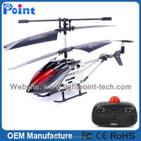 3CH Infrared Remote Control Helicopter Mini Metal RC Helicopter Toy Helicopter