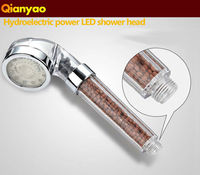 crystal Anion spa Hand hold Bathroom hand shower&shower head Filter Pressurize Saving Water. Bathroom Accessories