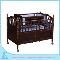 638 Latest Wooden Bed Designs Travel Softtextile Baby Cot Malaysia