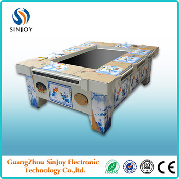 Video Table Fish Gambling Games/Catch Fish Arcade Machine/Fish Hunter Gambling Game Machine