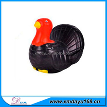 Plastic foam turkey stress toy