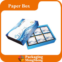 new design high quality paper moon cake packaging box