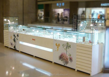 fashion glass jewelry display cabinet/display cases for jewelry