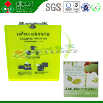 Top sale dmf free and eco friendly anti-mould sheets cool stickers /anti mold stickers