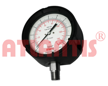 PROCESS PETROCHEMICAL PHENOLIC TURRET CASE PRESSURE GAUGES