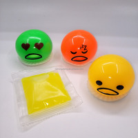 Cute Pressure Release Vomit Egg surprise Vomiting Toy jokes promotion gifts
