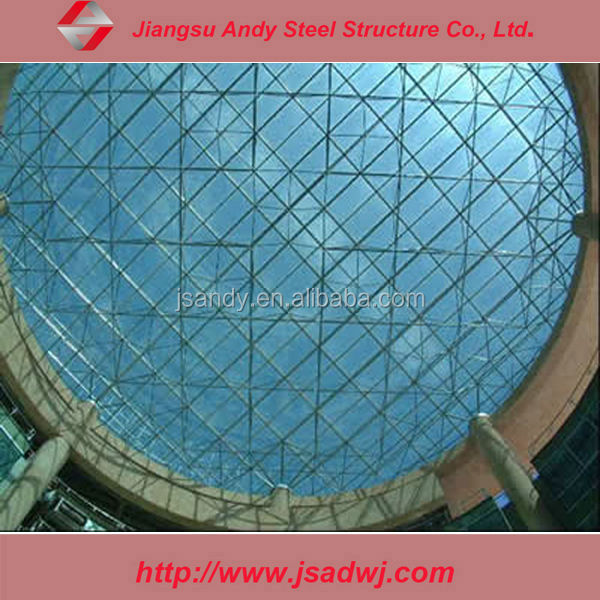 grid steel structural roof