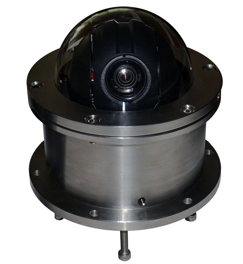 "Underwater 4"" High Speed Dome PTZ POE 2.0MP 1080P IP Camera ONVIF 10X Optical Zoom Security 100m Depth IP68 (SIP-UPTZ001)"