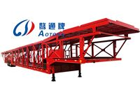 2/3 Axles Car Carrier Transport Semi Cargo Utility Trailer For Sale