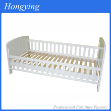 Comfortable safety wooden baby cot
