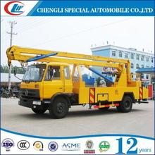 Cheap Price 6 Wheels High Altitude Working Truck China Aerial Working Platform for sale