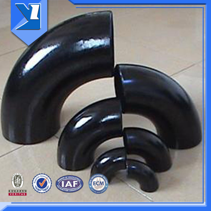 Black Painting A420 Elbow Seamless 23 Inch