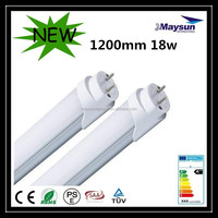 Energy saving 4ft 18 watt Single Pin led light high quality tube8 led tube T8 lamp