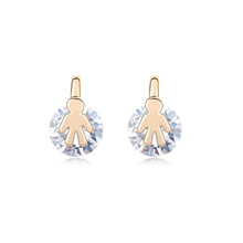 9337 stone jewelry design software flower earrings