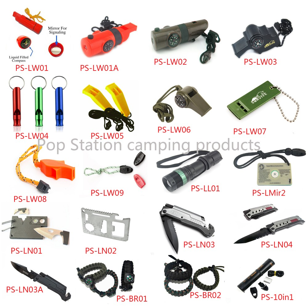Outdoor Ferrocerium Flint Stone Rod Fire Starter Lighter Magnesium Emergency Survival Tool kit