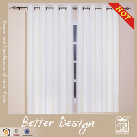 1PC JACQUARD HOTEL BLACKOUT NEW DESIGN WHITE SILK CURTAIN WITH CUSTOMIZED SERVICE AND FREE SAMPLE
