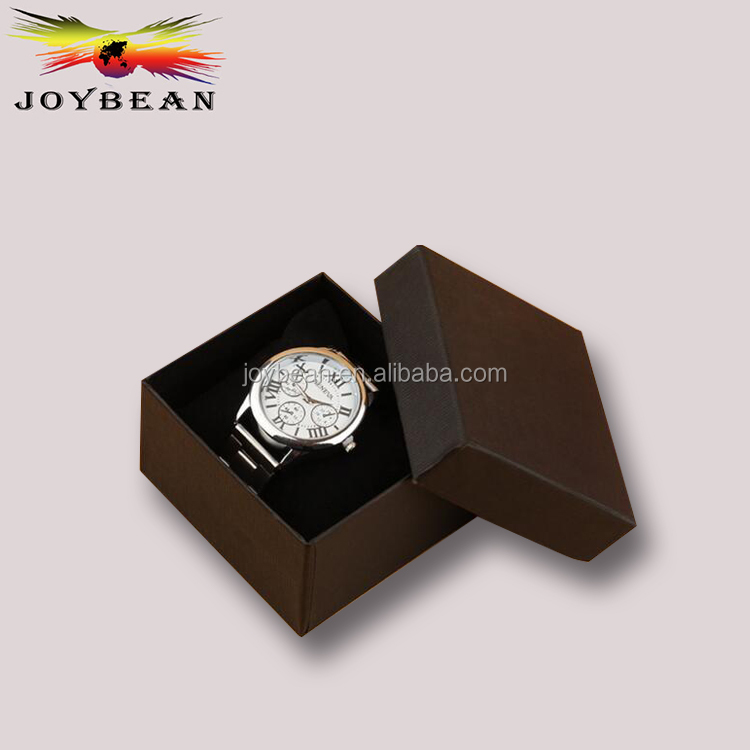 Wholesale Paper Luxury Men's Wrist Gift Leather Watch Box Storage Case in Shenzhen
