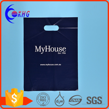 OEM design 100% biodegradable die cut plastic bags for clothes