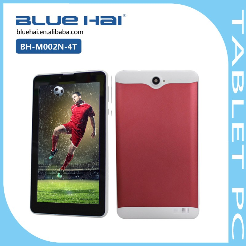 7 Inch Tablet With Metal Case MTK6572 Dual Core Android Smart 3G Tablet Phone Support Bluetooth Wifi
