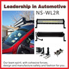 NSSC factory price 300W 52inch 4 row off road cree led light bar for Motorcycles n trucks