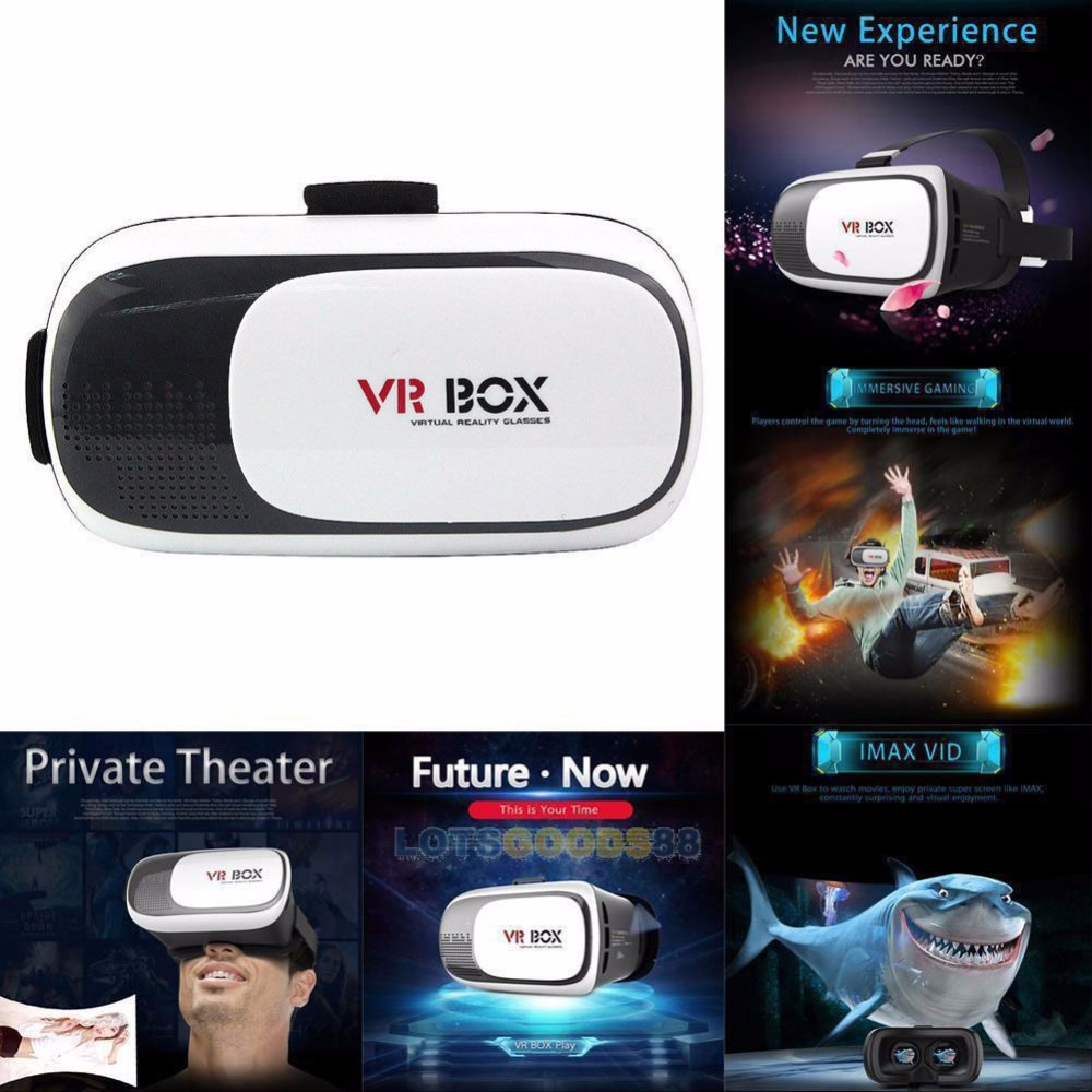 2016 3D Glasses Type and Virtual Reality VR headset 3D VR BOX 2.0