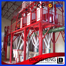 Rice/wheat/corn/maize flour production equipment/ mills processing/ flour milling machinery price