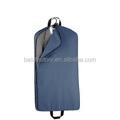 nylon gament suit bag, black non woven suit bag, cheap nonwoven garment bag