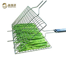 Galvanized crimped bbq wire mesh/stainless steel barbecue netting