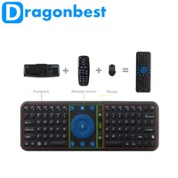 Air Mouse RC7 Rechargeable 2.4G Wireless Air Fly Mouse and Keyboard for Android TV Box