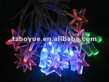 20Led solar decoration string light with coca-cola bottle
