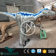 OABC 8007 Amusement park adults dinosaur costume robotic dinosaur