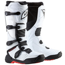 Fashion leather racing motocross boots