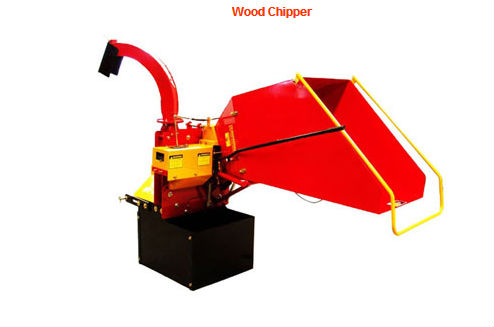 Wood slasher for tractor