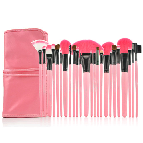wholesale private label make your own brand Makeup Brush 24pcs Cosmetic Makeup Brush Set