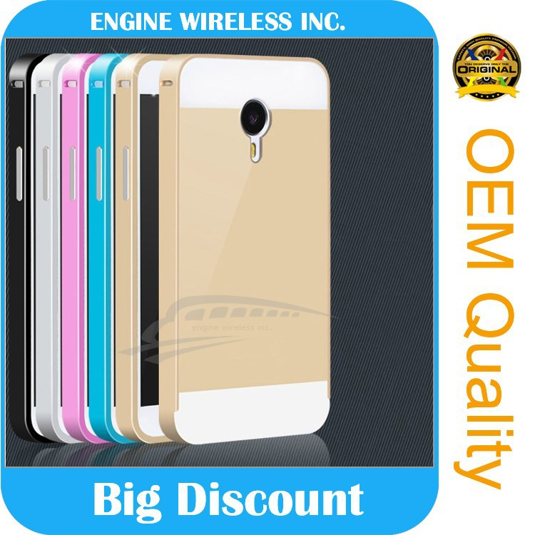 new arrival phone case Luxury pc back +Bumper cover aluminum metal frame Case for samsung note 3 case