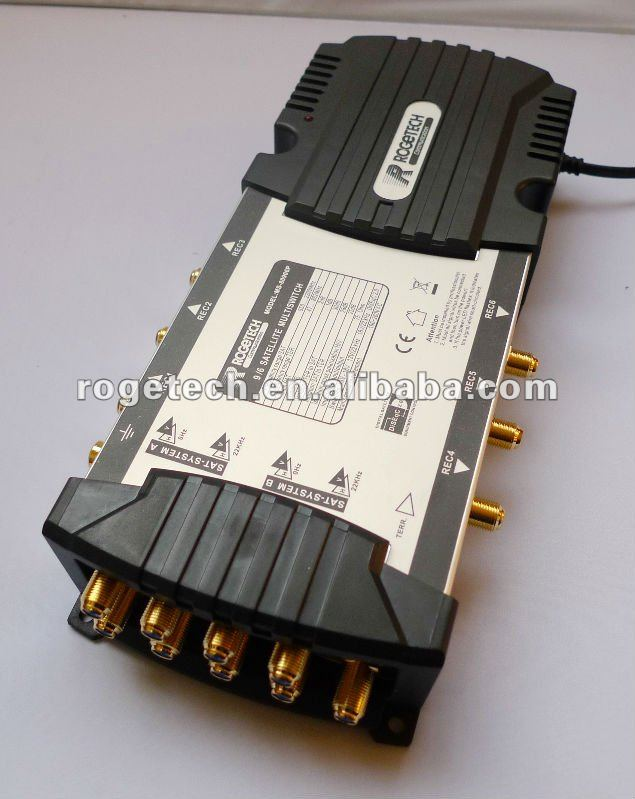9inputs 6 Satellite multiswitch internal power(MS-80906P)