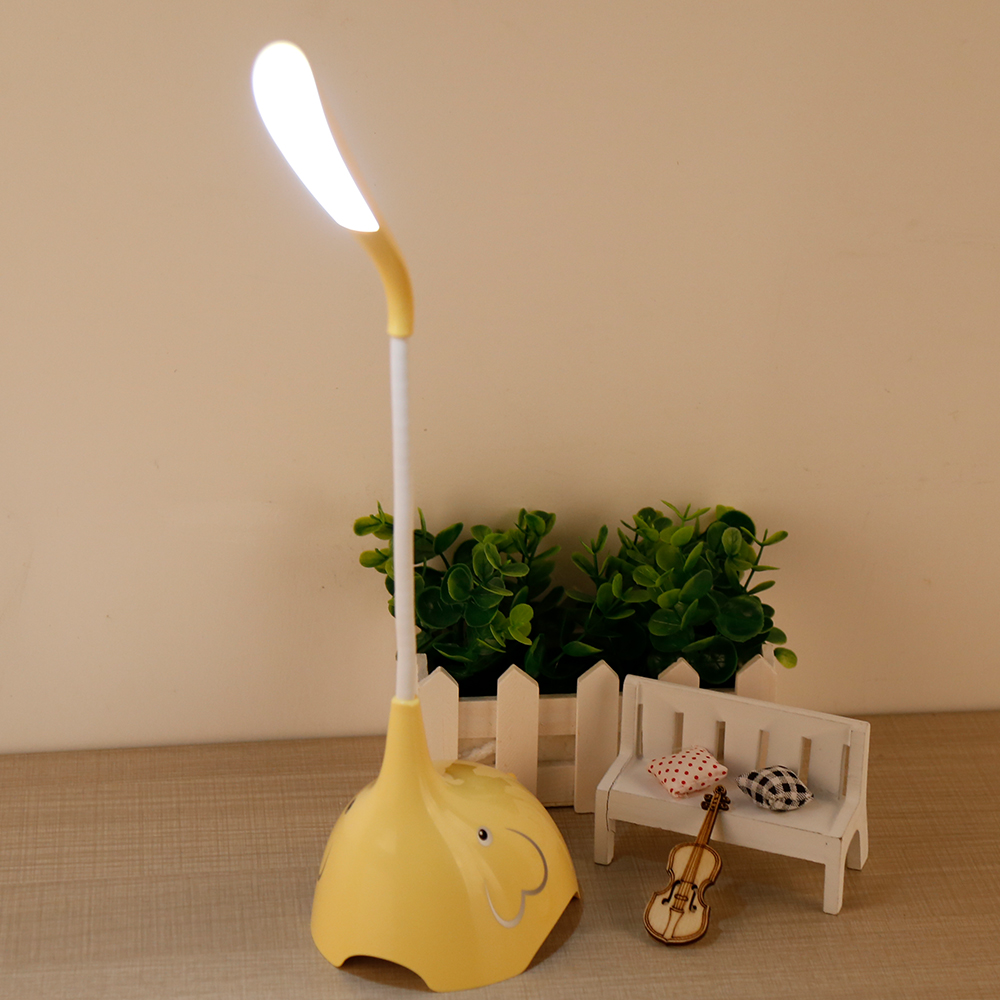 3 Steps Dimmable Room Decoration Led Cartoon Cute Table Lamp for Night Lights
