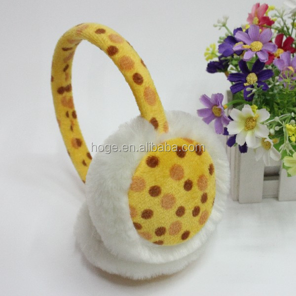 Warm ear protector/earcap/plush earcap/ earmuffs