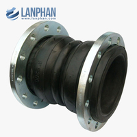 flanges flexible flanged sphere double ball rubber expansion joints