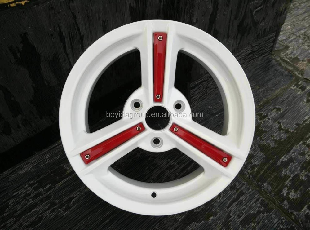 15x5.0 ET34 CB57.1 3X112 white car wheel rims, alloy wheel made in china