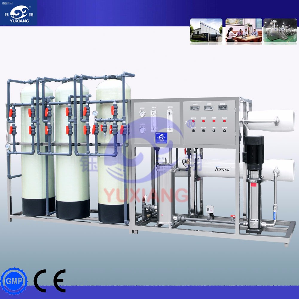 YXSCL-RO Automatic Cleaning Stainless Steel Two Grade EDI Water Treatment for Sale