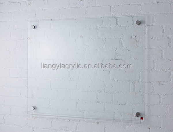 High End Clear Wall Mount Acrylic Notice Board Buy
