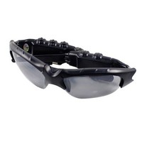 4GB Glasses DVR Recorder camcorder Camera sun glasses video with mp3 player