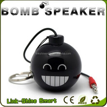 2016 new design innovative Wholesale grenade sport bomb mini speaker