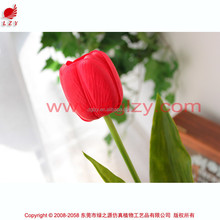 Real touch PU tulip high quality decoration artificial tulip flower