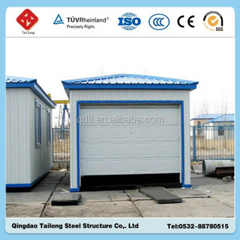 Prefabricated high rise steel structure car garage