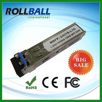 supplying Cisco, Juniper, HP 1.25G 60km 1550nm sfp transceive with DDM for switch
